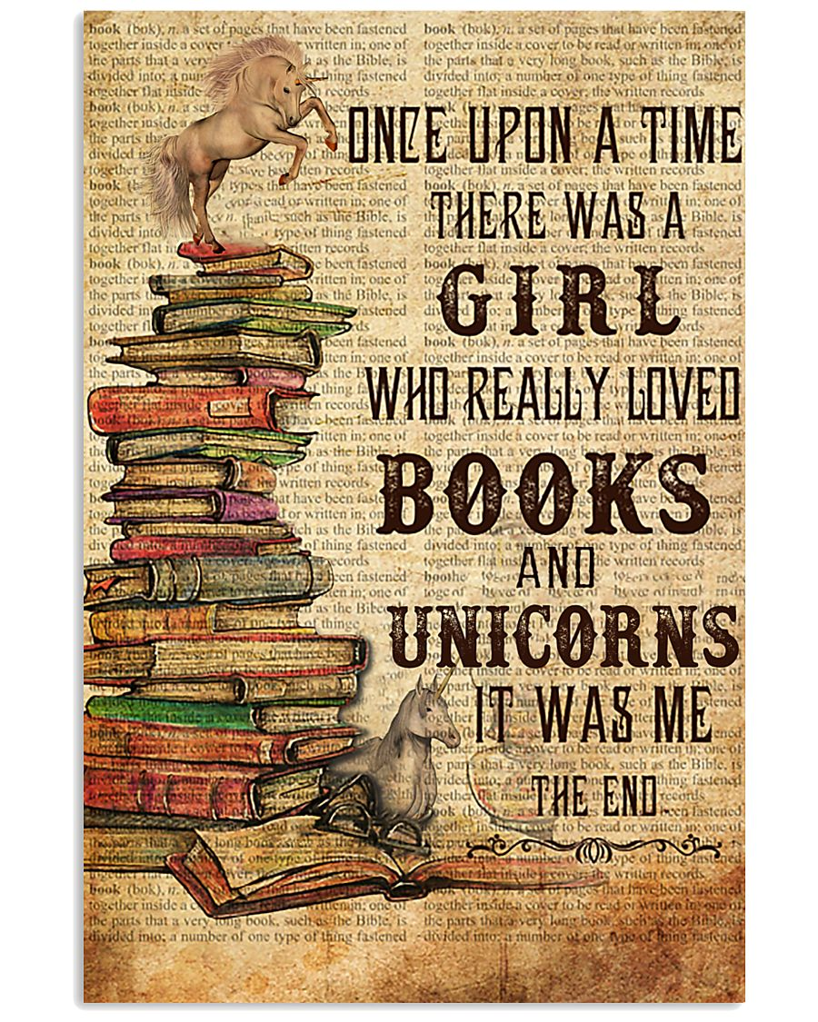 Once Upon A Time Reading Unicorns 11x17 Poster