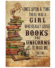 Once Upon A Time Reading Unicorns 11x17 Poster front