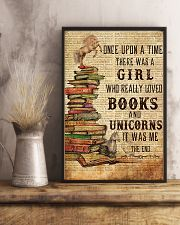 Once Upon A Time Reading Unicorns 11x17 Poster lifestyle-poster-3