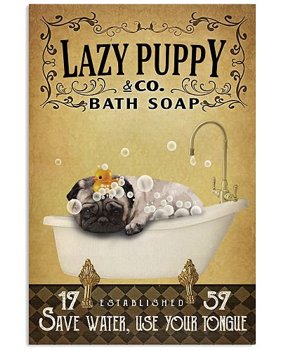 Yellow Bath Soap Pug