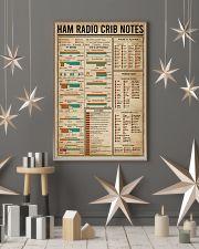 Ham Radio Crib Notes Amateur Radio 16x24 Poster lifestyle-holiday-poster-1