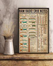 Ham Radio Crib Notes Amateur Radio 16x24 Poster lifestyle-poster-3
