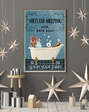Bath Soap Company Shetland Sheepdog 11x17 Poster lifestyle-holiday-poster-1