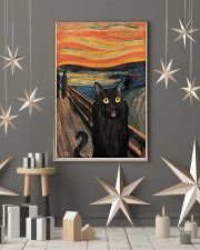 The Scream Black Cat 16x24 Poster lifestyle-holiday-poster-1