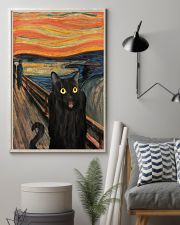 The Scream Black Cat 16x24 Poster lifestyle-poster-1