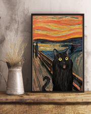 The Scream Black Cat 16x24 Poster lifestyle-poster-3