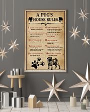 A Pug House Rules 11x17 Poster lifestyle-holiday-poster-1