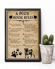 A Pug House Rules 11x17 Poster lifestyle-poster-8