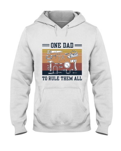 Retro Navy One Dad To Rule Them All Carpenter