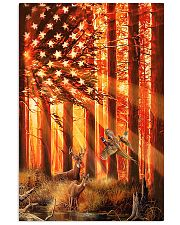 Hunting Deer And Pheasants 11x17 Poster front