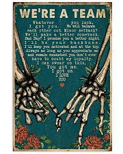 We're A Team Skeleton 16x24 Poster front