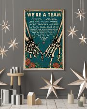 We're A Team Skeleton 16x24 Poster lifestyle-holiday-poster-1