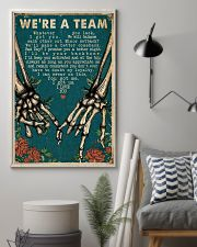 We're A Team Skeleton 16x24 Poster lifestyle-poster-1