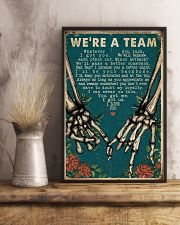 We're A Team Skeleton 16x24 Poster lifestyle-poster-3
