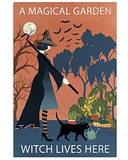 Vintage Girl Witch A Magical Garden 11x17 Poster front