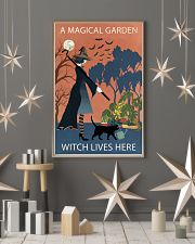 Vintage Girl Witch A Magical Garden 11x17 Poster lifestyle-holiday-poster-1