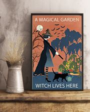 Vintage Girl Witch A Magical Garden 11x17 Poster lifestyle-poster-3
