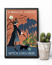 Vintage Girl Witch A Magical Garden 11x17 Poster lifestyle-poster-8