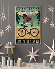 Cycling Club Cairn Terrier  11x17 Poster lifestyle-holiday-poster-1