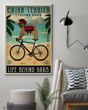 Cycling Club Cairn Terrier  11x17 Poster lifestyle-poster-1