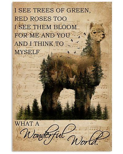 Music Sheet And I Think Alpaca