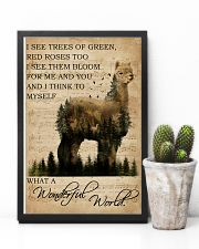Music Sheet And I Think Alpaca 11x17 Poster lifestyle-poster-8