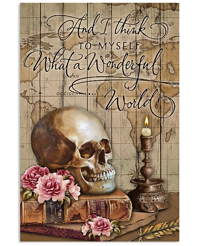 Map Pallet Wonderful World Skull