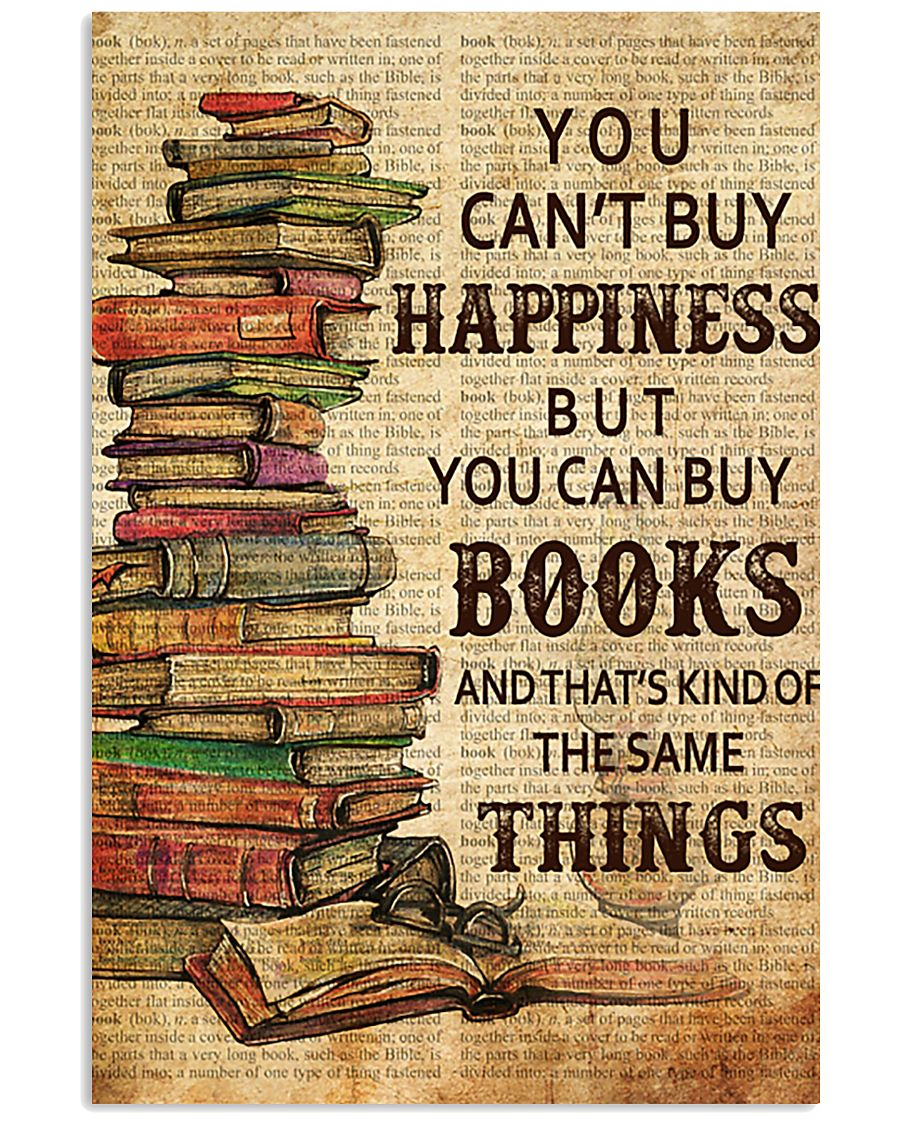 Book You Can't Buy Happiness 11x17 Poster