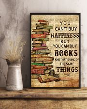 Book You Can't Buy Happiness 11x17 Poster lifestyle-poster-3