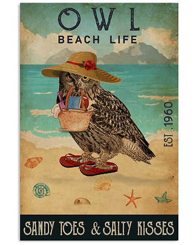 Beach Life Sandy Toes Owl