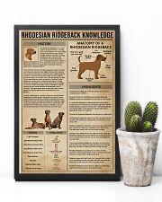Rhodesian Ridgeback Knowledge Dog 11x17 Poster lifestyle-poster-8