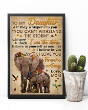 Mom To Daughter I Am The Storm Elephant 11x17 Poster lifestyle-poster-8