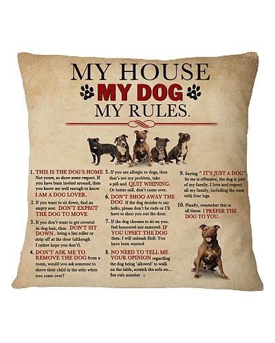 Vintage My House My Pitbulls My Rules