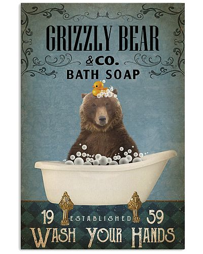 Vintage Bath Soap Grizzly bear