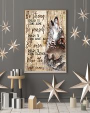 Be Strong To Enough Stand Alone Wolf 16x24 Poster lifestyle-holiday-poster-1