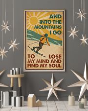 And Into The Mountains I Go Skiing 16x24 Poster lifestyle-holiday-poster-1