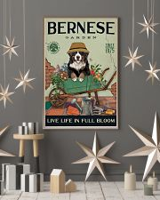 Bernese Mountain Dog Garden 11x17 Poster lifestyle-holiday-poster-1