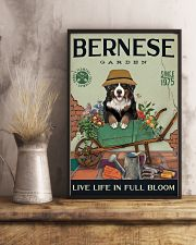 Bernese Mountain Dog Garden 11x17 Poster lifestyle-poster-3