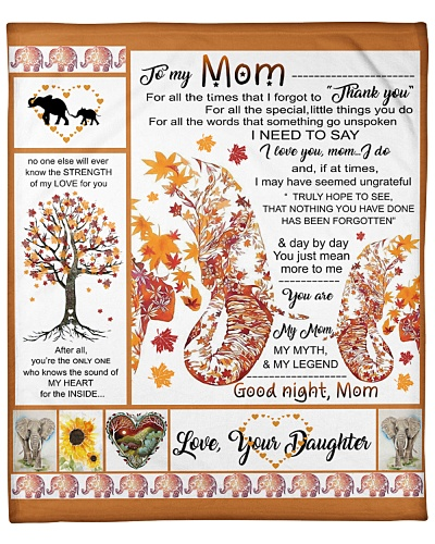 Daughter To Mom For All The Time Elephant