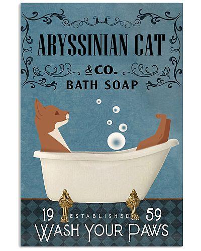 Bath Soap Company Abyssinian Cat