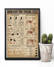 Bowhunting Knowledge 11x17 Poster lifestyle-poster-8