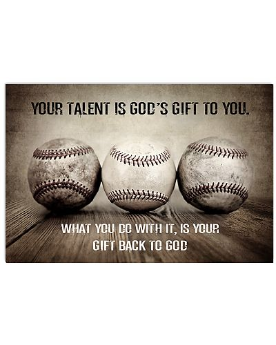 Baseball Your Talent is God's Gift