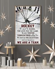 Hockey We Are A Team 11x17 Poster lifestyle-holiday-poster-1
