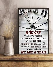 Hockey We Are A Team 11x17 Poster lifestyle-poster-3