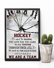 Hockey We Are A Team 11x17 Poster lifestyle-poster-8