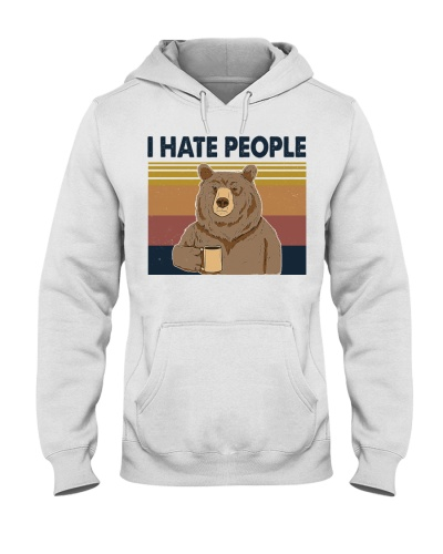 I Hate People Bear