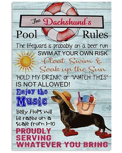 Dachshund Pool Rule