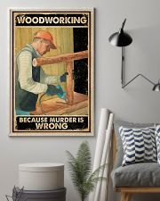 Murder Is Wrong Carpenter 16x24 Poster lifestyle-poster-1