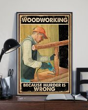 Murder Is Wrong Carpenter 16x24 Poster lifestyle-poster-2