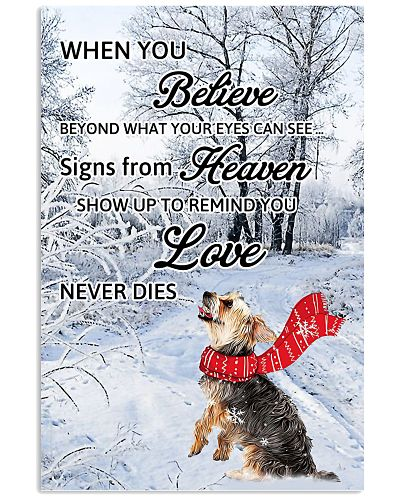 Yorkshire Terrier Love Never Dies